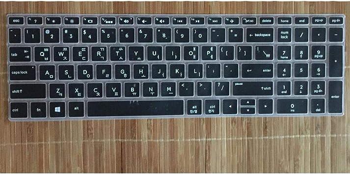 Protector de Teclado Coreano para HP Envy X360 15.6 Pulgadas ...