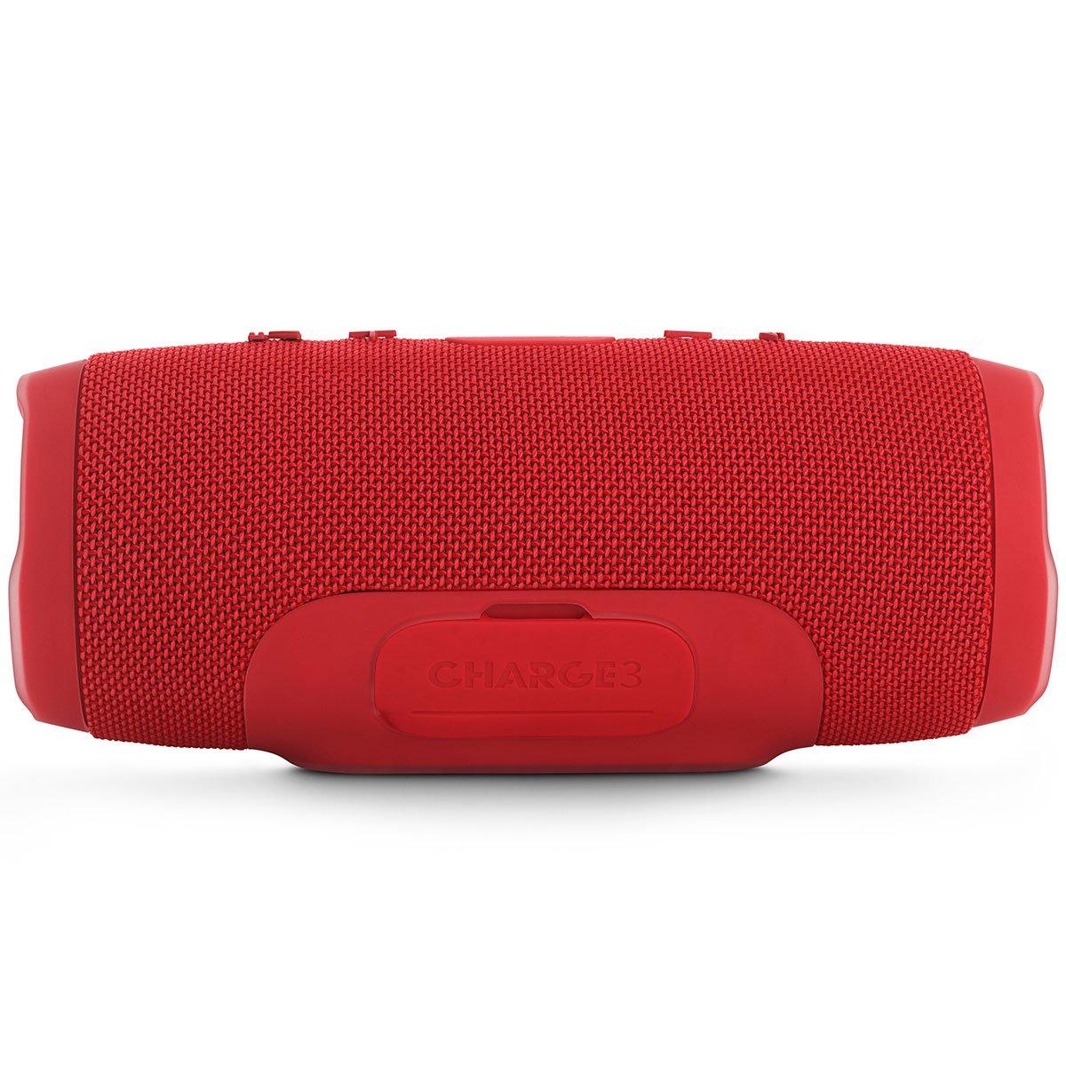JBL Charge 3 - Altavoz inalámbrico portátil, Color Rojo