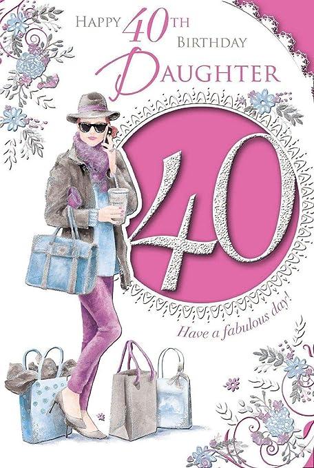 Amazon.com: Xpress Yourself Tarjeta de cumpleaños para hija ...