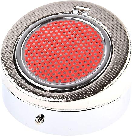 colore: arancio cuboide allungato con portachiavi Mod 043-05 Quantum Abacus Mini posacenere//Posacenere tascabile//Posacenere da viaggio in metallo e materiale sintetico ABS