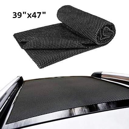 "36/"" x 43/"" Heavy Duty Grip Car Roof Protective Mat Non-Slip Rack Pad"