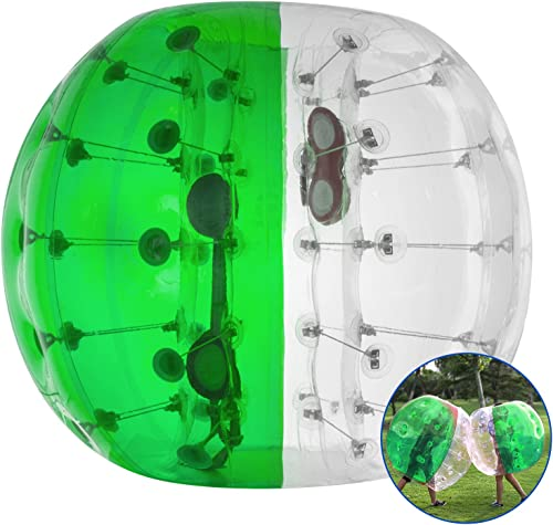 Happybuy Inflatable Bumper Ball 1.2M 4ft 1.5M 5ft Diameter Bubble Soccer Ball Blow Up Toy