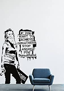 Banksy Wall Decals Decor Vinyl Sticker LM1206