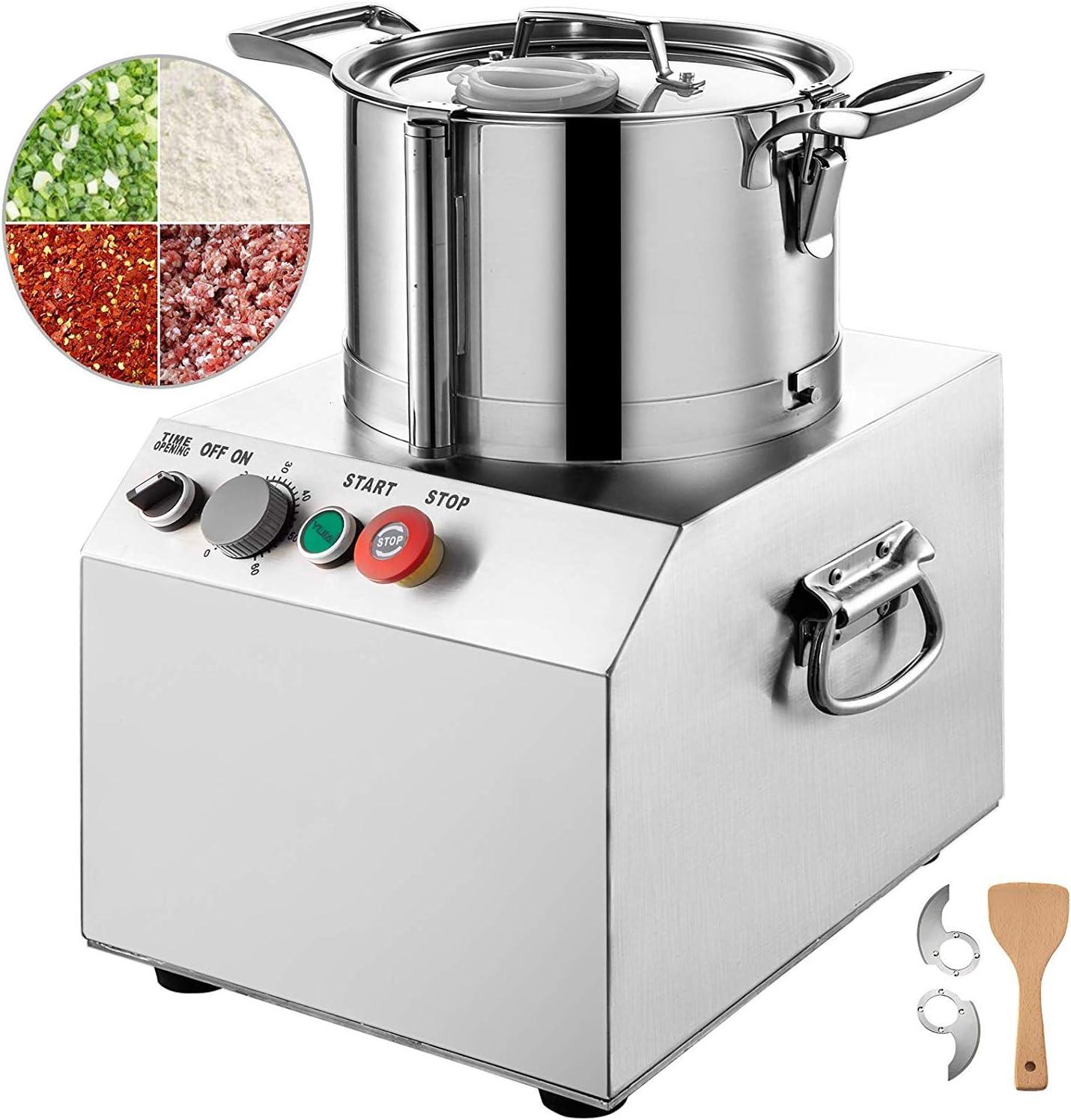 GIOEVO 750 W Robot de cocina profesional Blender 6 L Robot de cocina eléctrico freidora de cocina 220 V Procesador de acero inoxidable perfecto para frutas y verduras granos: Amazon.es: Hogar