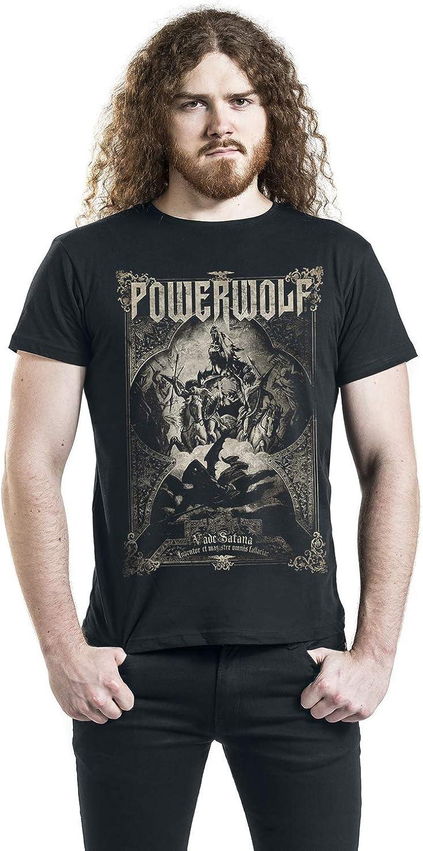 Bands Powerwolf Incense and Iron M/änner T-Shirt schwarz Band-Merch