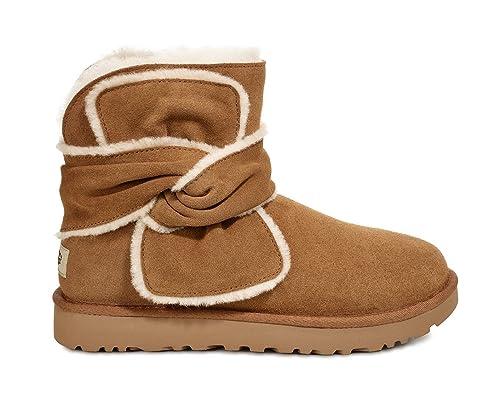 79063d4e7a7 UGG Mini Spill Seam Bow Women's Boot: Amazon.ca: Shoes & Handbags