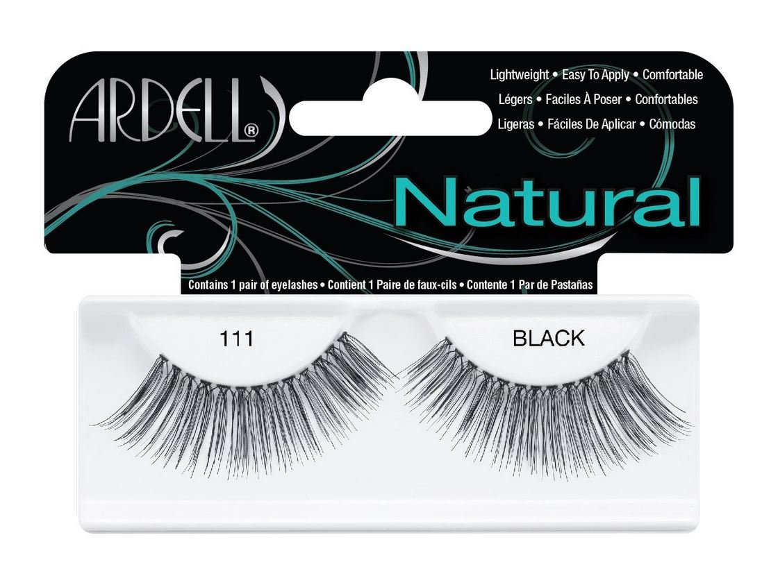 7b9001a17d4 Amazon.com : Ardell Fashion Lashes Pair - 111 (Pack of 4) : Fake Eyelashes  And Adhesives : Beauty