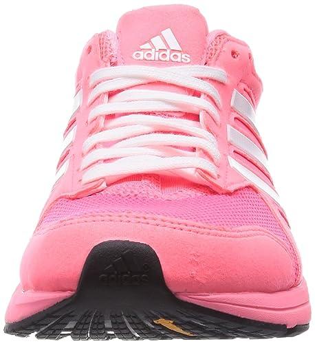buy popular 0c208 50112 Adidas Adizero Tempo 7 W, Color de RosaBlanco, 5,5 Nosotros Amazon.es  Zapatos y complementos