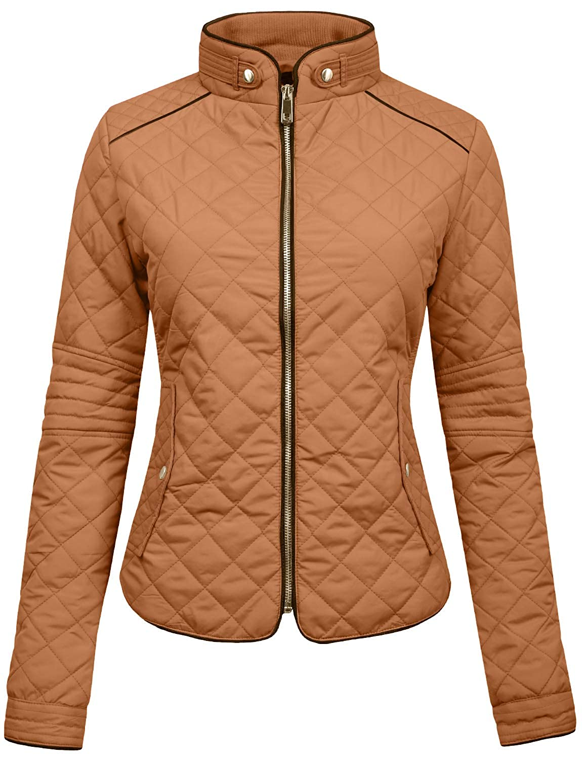 NE PEOPLE Womens Lightweight Quilted Zip Jacket/Vest NEWJ22