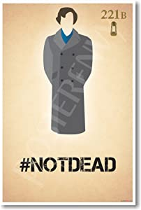 Sherlock Holmes - #notdead - New Humor Poster