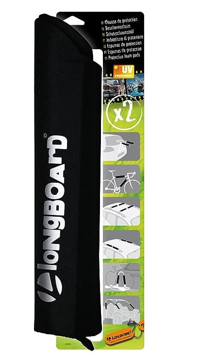 Longboard 2 espumas de protección Barras