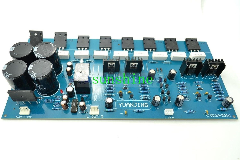 2sc5200 X4 2sa1943 8 Power Amplifier Board 200w 500w Transistor Circuit Audiocircuit Home Audio Theater