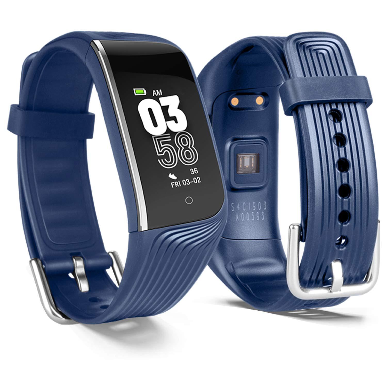 POSIVEEK Fitness Tracker HR,S4 Fitness Watch Activity Tracker Heart Rate Monitor, Sleep Monitor,Step Counter,IP67 Waterproof,Calorie Counter,Pedometer ...