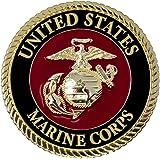 NEW sealed USMC OFFICIAL Eagle Globe And Anchor EGA service Cap Black Ornament