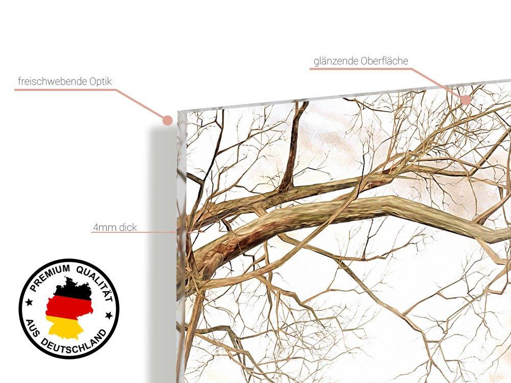 GRAZDesign 100041_004_01_04 Wandbild mit mit mit Spruch Life ist Beautiful   Panoramabild aus Acrylglas für Wohnzimmer   Wandspruch-Bild (180x50cm) 2f9517