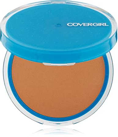 CoverGirl Clean Oil Control Compact Pressed Powder, Soft Honey 555 0.35 oz Pack of 4