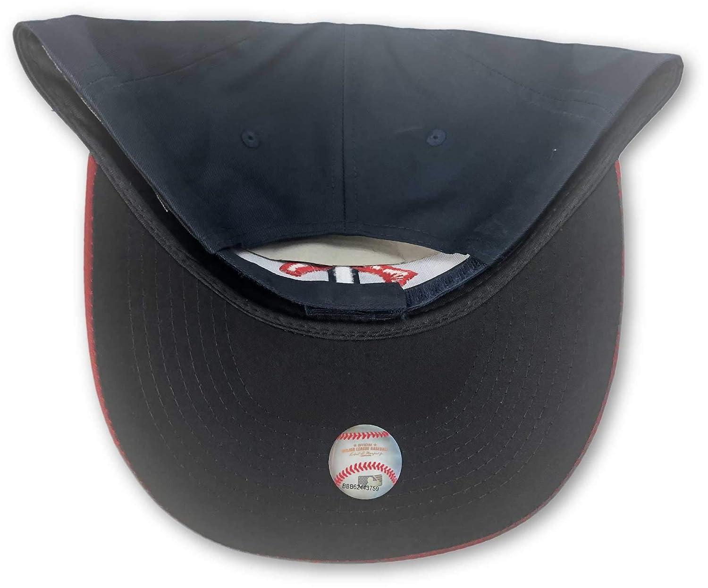 Fan Favorite Minnesota Twins Structured Adjustable Hat Blue