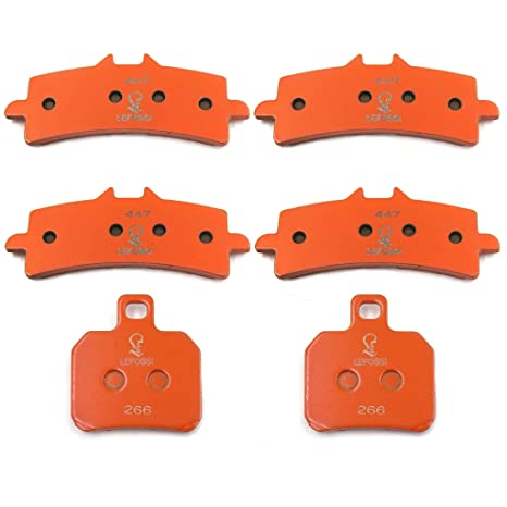 Amazon.com: HTTMT FA447 FA266 Brake Pads Compatible with ...