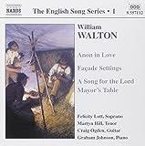 Walton: The English Song Series, Vol. 1