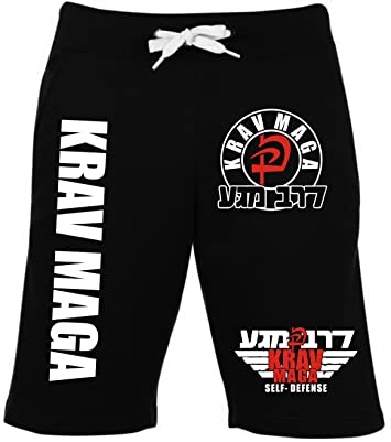 Krav Maga Short – 2 – Pantalones de chándal de Entrenamiento ...