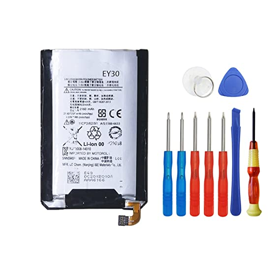 Wee EY30 SNN5945A Battery Replacement For MOTOROLA MOTO X 2nd XT1097 XT1096 XT1093 XT1095
