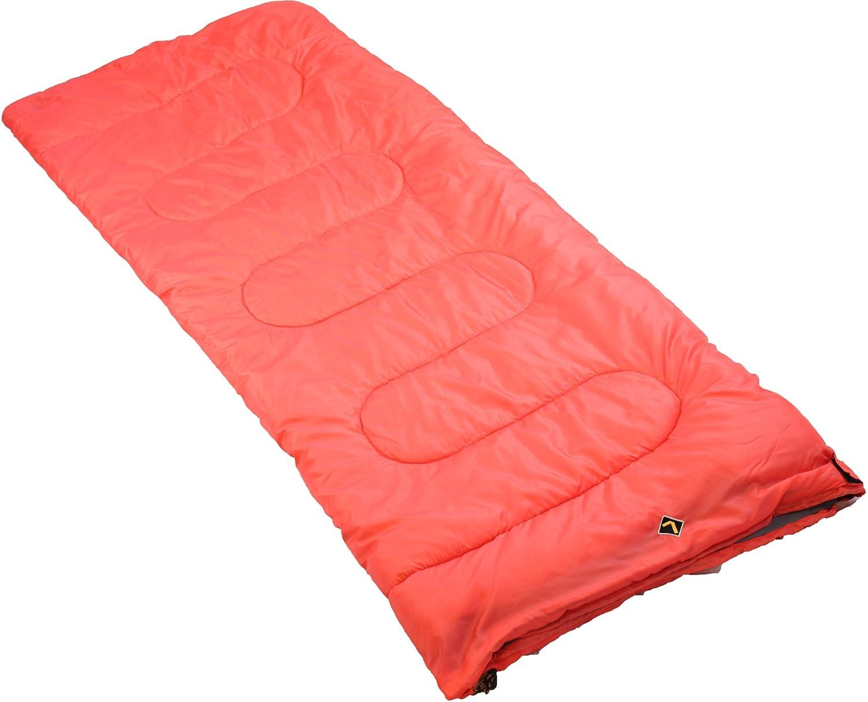 Ledge Sports Ridge +30-Degree Classic Rectangular Sleeping Bag with Stuff Sack (75 X 30-Inch, Blue) 5090