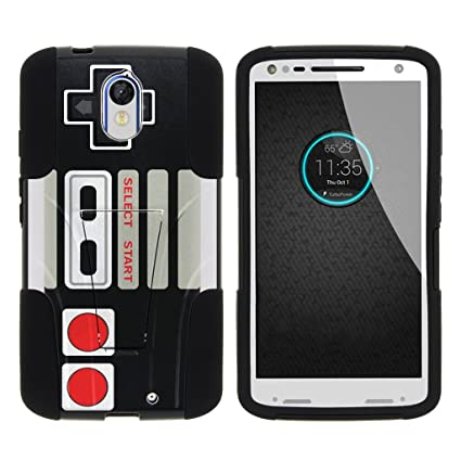 MINITURTLE Case Compatible w/Motorola Droid Turbo 2 Stand Case, Moto X Force Shell