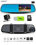 "Amazon Price History for:Dash Cam Mirror Camera 4.3"" LCD FHD 1080P Dual Lens Car Camera Front and Rear View Camera with G-Sensor Parking Monitor Video Recorder"