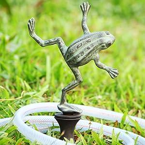 """SPI Home Dancing Frog Hose Guard, , 4"""" x 9"""" x 19"""""""