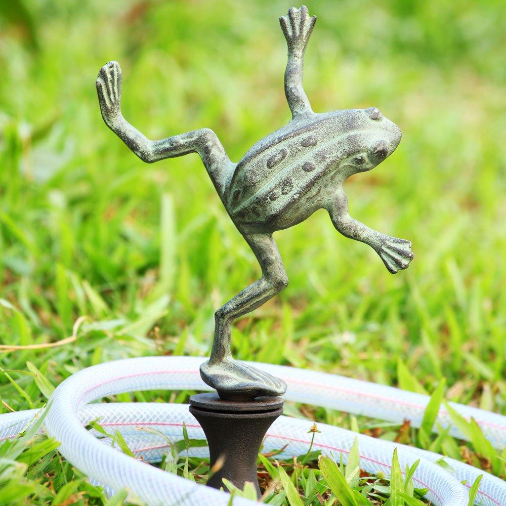 Amazon.com : Dancing Frog Hose Guard : Garden Hose Reels : Patio, Lawn U0026  Garden