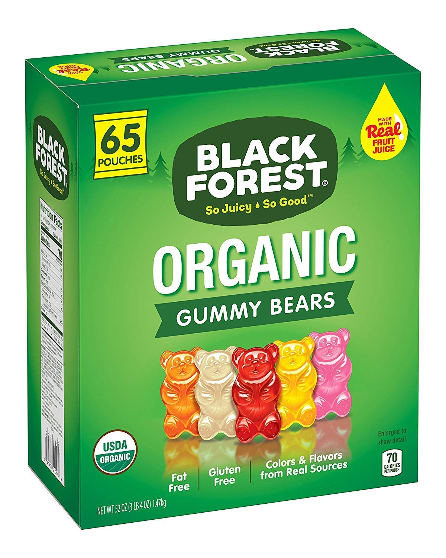 Gummy Bears (65 Pack (Organic))
