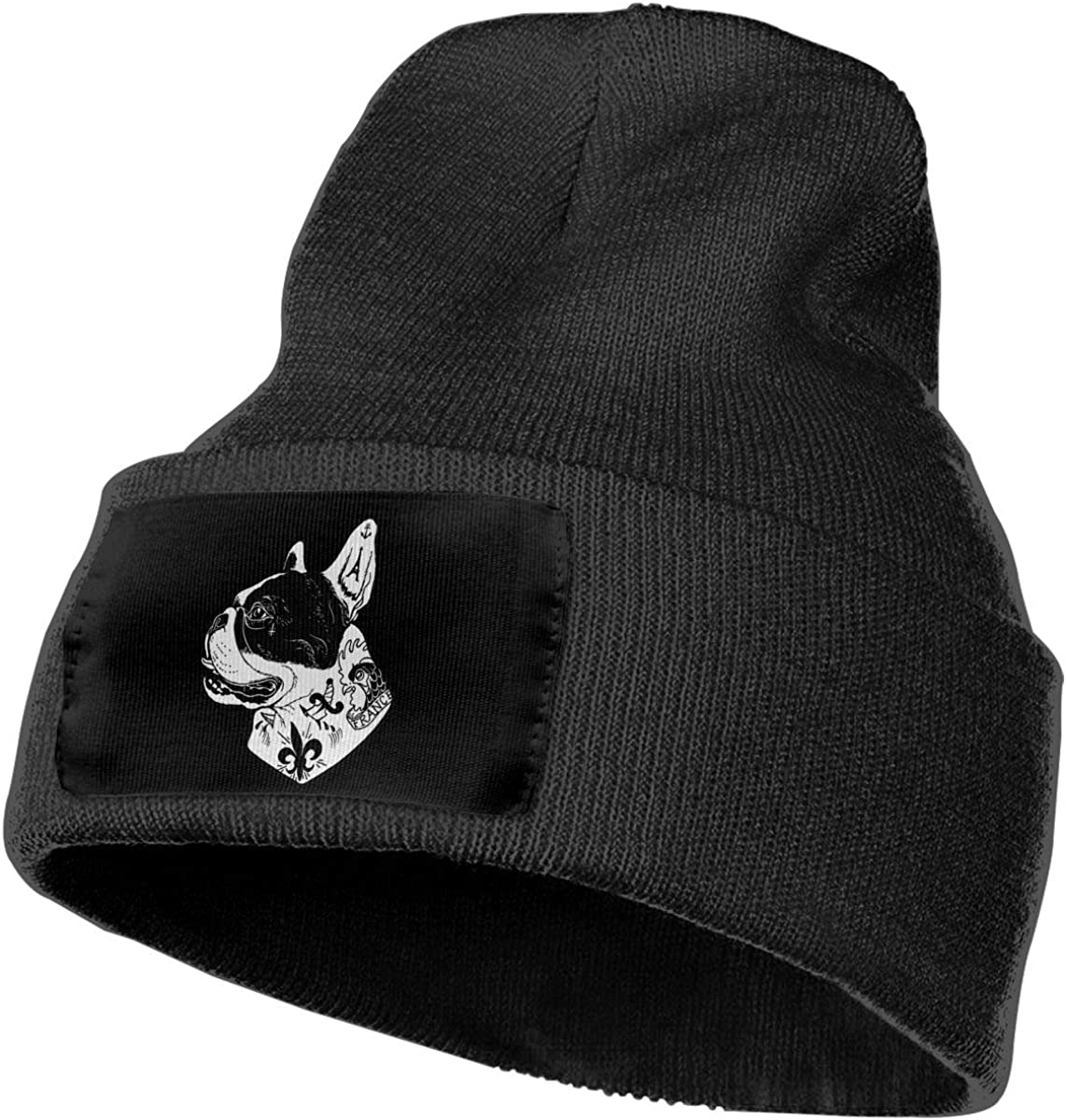 Unisex Stylish Slouch Beanie Hats Black Resist Logo Top Level Beanie Men Women