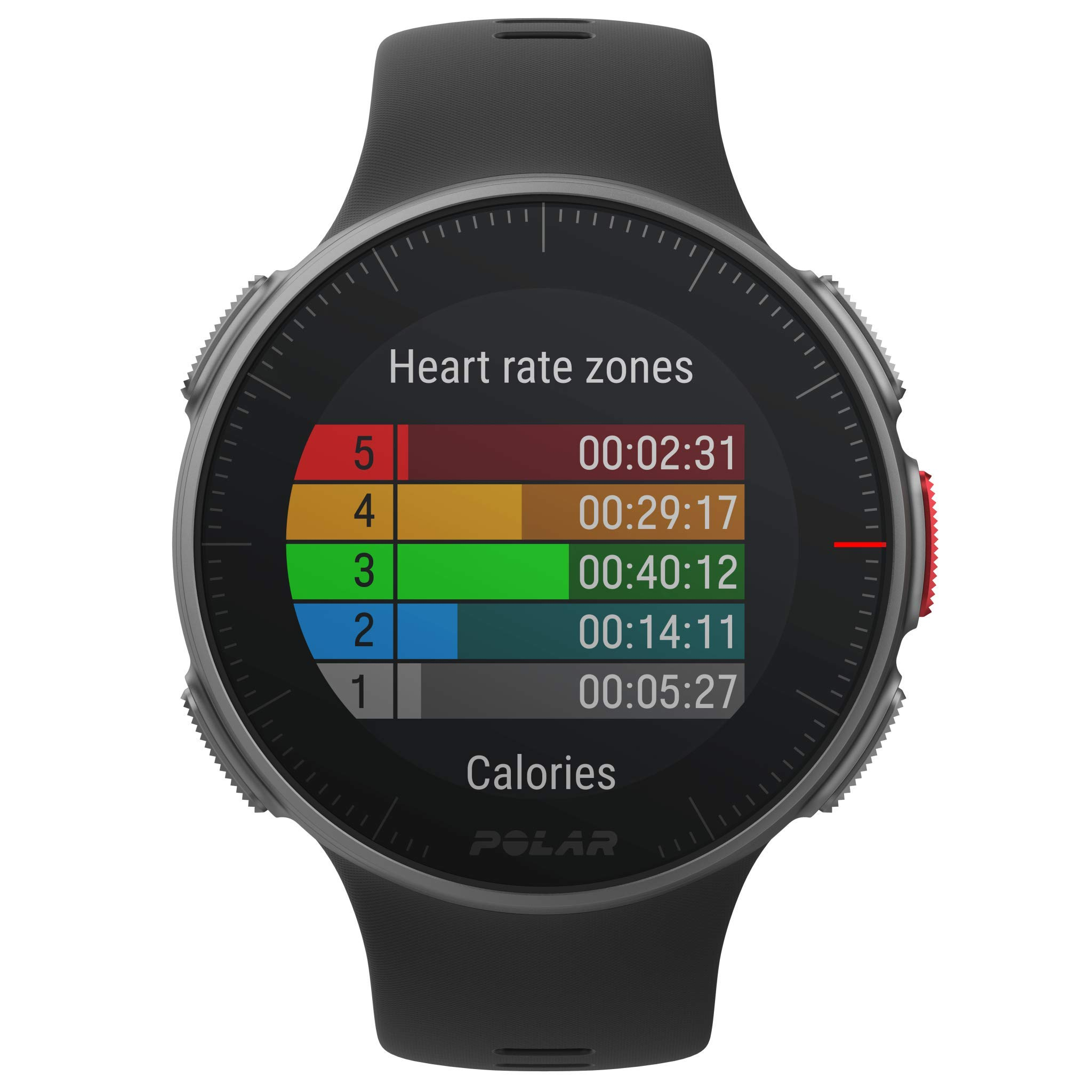 PlayBetter Polar Vantage V Pro (Black with H10 Heart Rate Sensor) Power Bundle Portable Charger & Screen Protectors | Multisport Watch | GPS & Barometer by PlayBetter (Image #2)