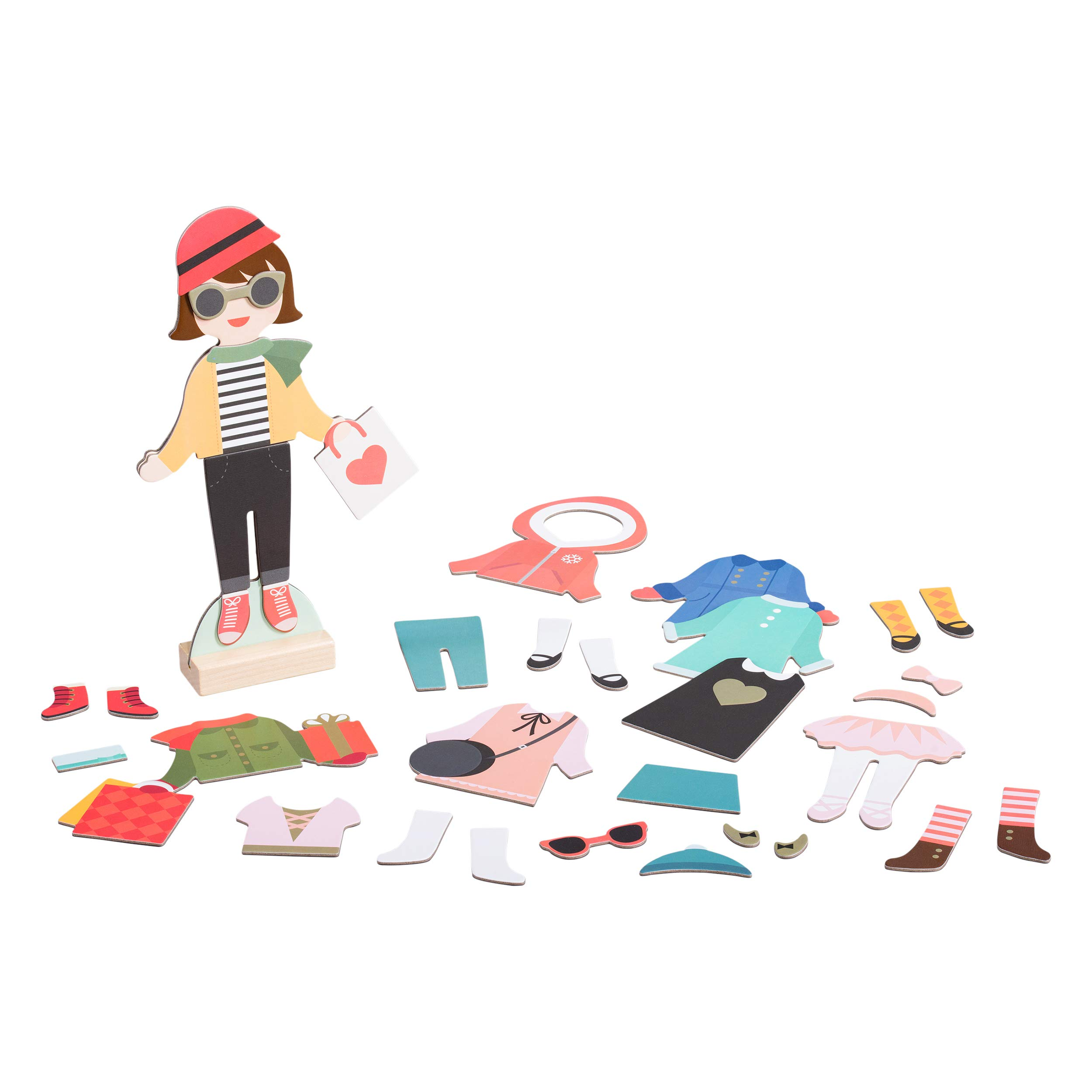 FAO Schwarz 35-Piece Holiday Looks Magnetic Dress Up Game for Children Ages 3+ by FAO Schwarz