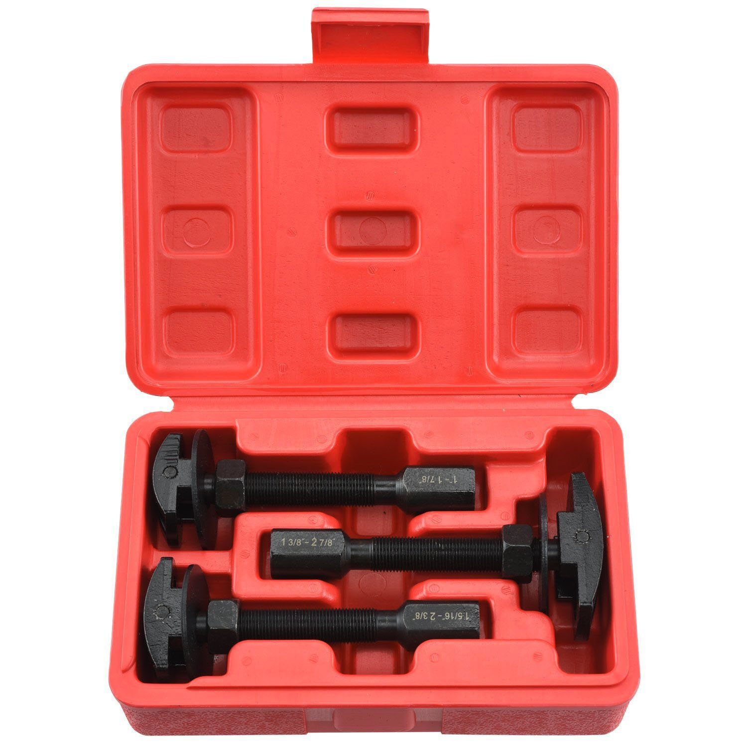 Neiko 20721A Pneumatic Rear Axle Bearing Puller Service Kit | Includes Case | 3-Piece Set