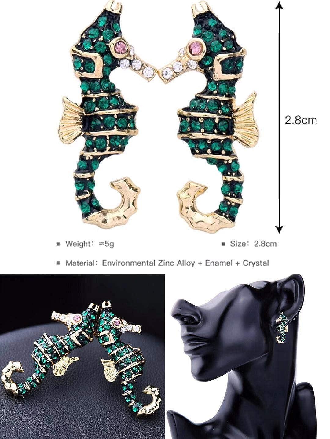 6 Pairs Cute Earrings for Girls Studs Women Earrings sets Fashion Fun Drop Dangle Gift by HappenFashion