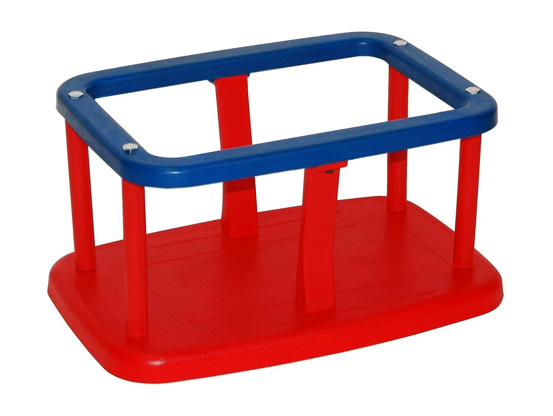 Más asequible rojoOTITU Just Fun Asiento Columpio con Placa de Aluminio para para para bebé Uso público – verde  40% de descuento