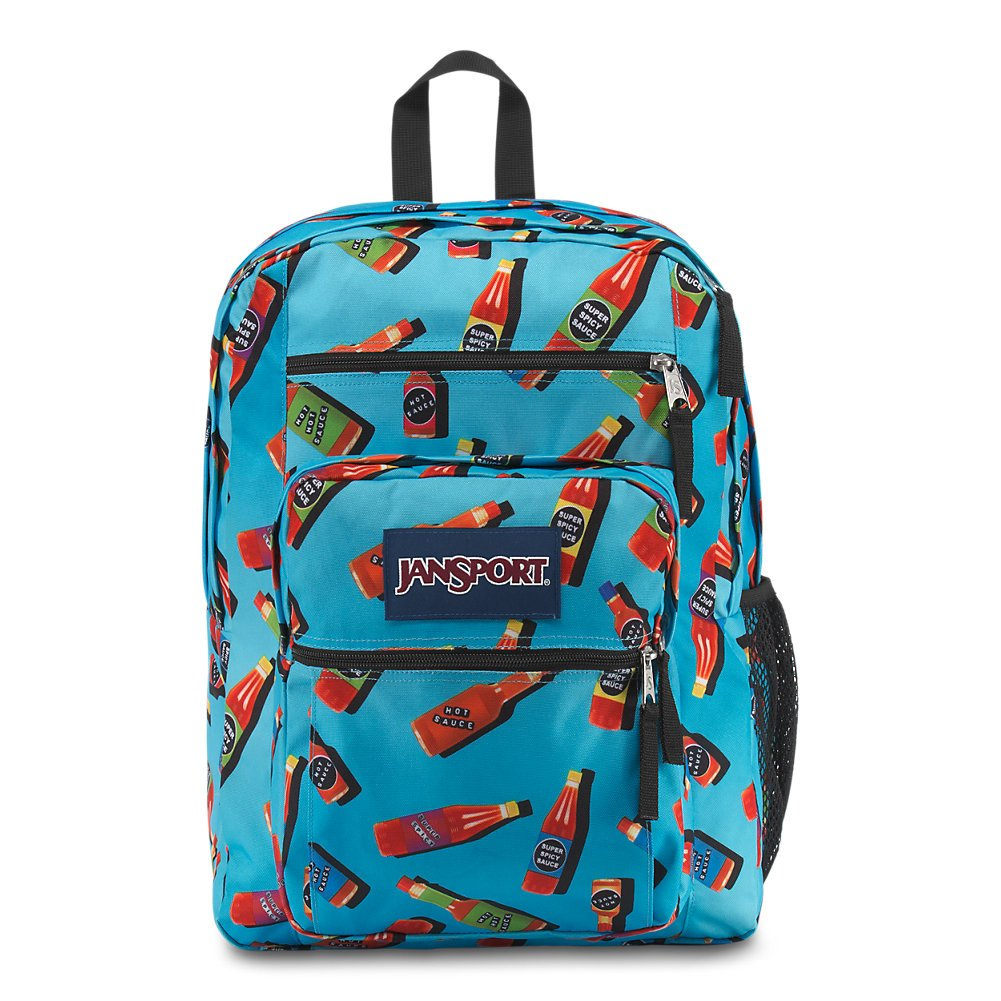 024a11dd0a4b Galleon - JanSport Big Student Backpack - Hot Sauce - Oversized