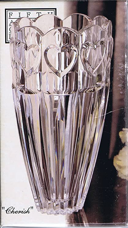Amazon Cherish By Fifth Avenue Crystal Ltd 7 12 Vase 24