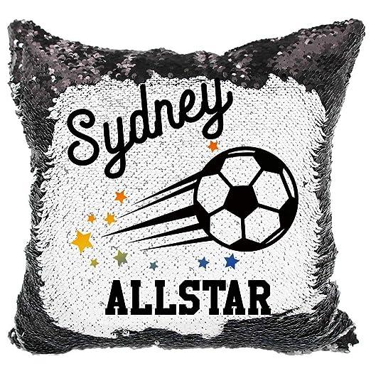 Queen54ferna Fútbol Allstar Sports Almohada Personalizada ...