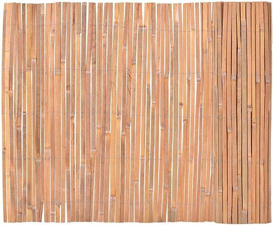 Tidyard Valla de Madera para Jardín Bar Patio Comercial y Residencial, Decoración Al Aire Libre,Bambú 100x400cm: Amazon.es: Hogar