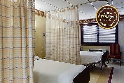 Cortina de privacidad para hospital, separador de cama, cubículo ...