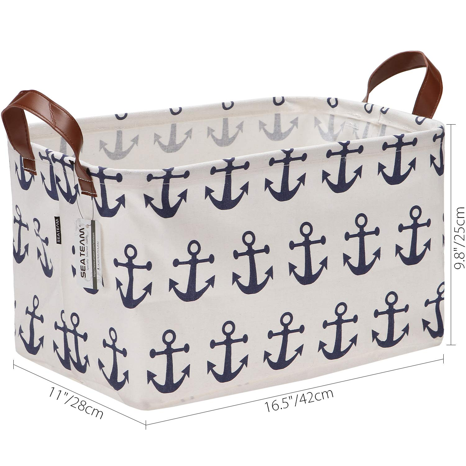 """Nautical Anchor for Dog Toy Canvas material 8/"""""""