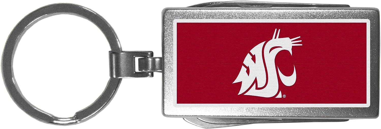 Siskiyou NCAA Unisex Multi-Tool Key Chain; Logo