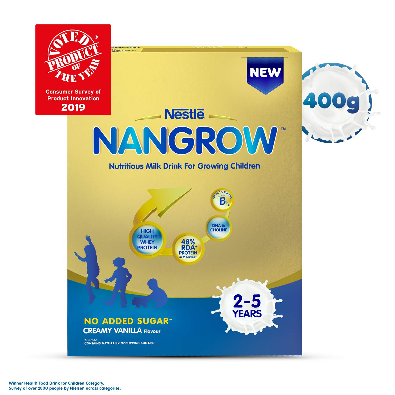 Nestlé NANGROW Nutritious Milk Drink for Growing Children (2-5 years),  Creamy Vanilla