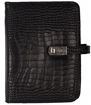 Kalpa Mini Organizer Faux Leather con rellenos 2018, 2019 y 2020 en el interior - Negro: Amazon.es: Oficina y papelería