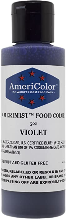 AmeriColor AmeriMist Violet Airbrush Food Color, 4.5 oz
