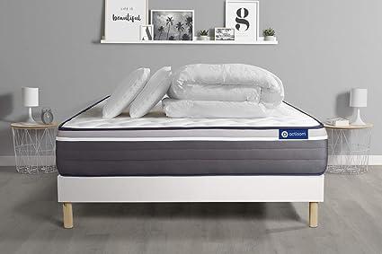 Pack Listo para Dormir colchón Actimmo Plus 160 x 200 cm ...