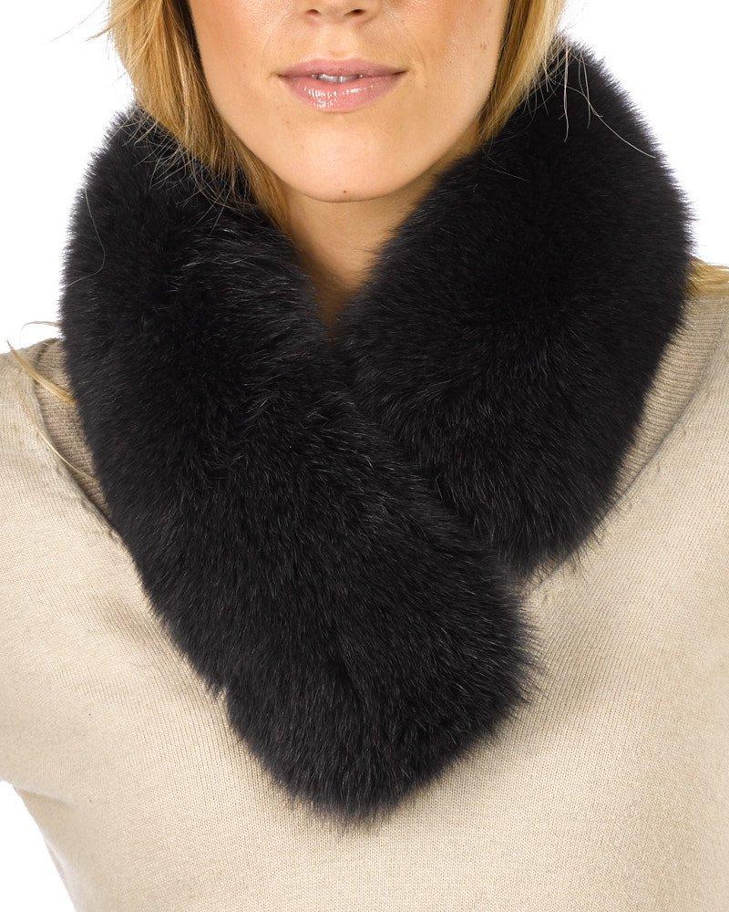 Charcoal Grey Fox Fur Headband by frr (Image #2)