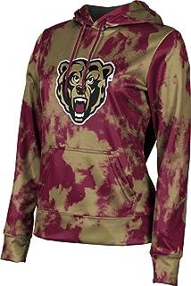 Grunge College at Brockport Girls Zipper Hoodie School Spirit Sweatshirt